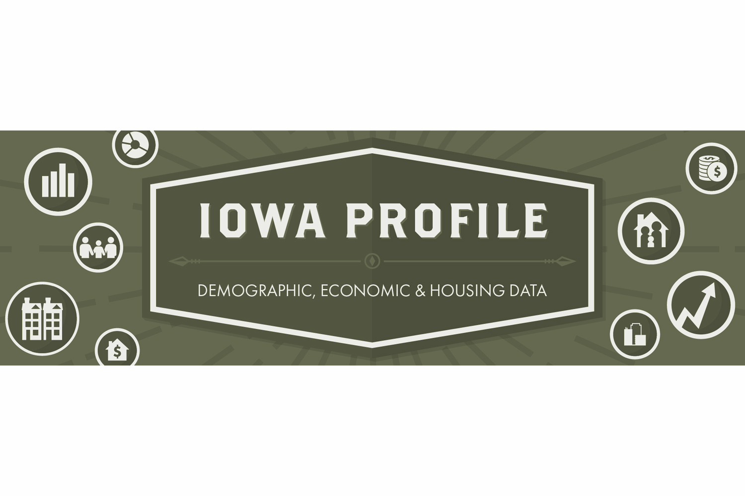 An illustration of the Iowa Profile cover.